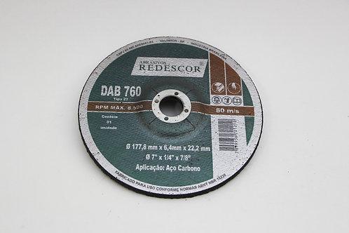 """Disco de Desbaste 7"""" x 1/8"""" x 7/8"""""""