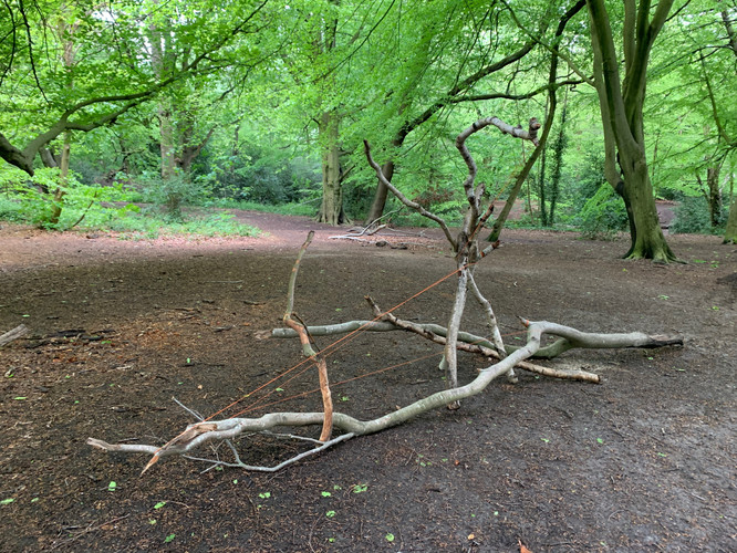 'Tri,Hampstead Heath with Line'