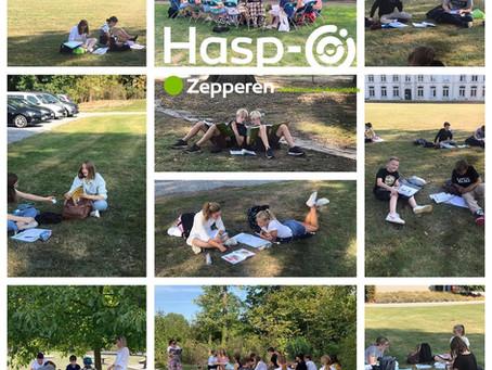 Hasp-O Zepperen - Les in openlucht?