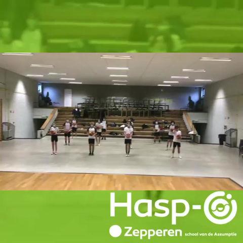 Hasp-O Zepperen - 5 Sport aan het werk!