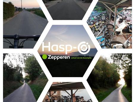 Hasp-O Zepperen - Fietsactie!