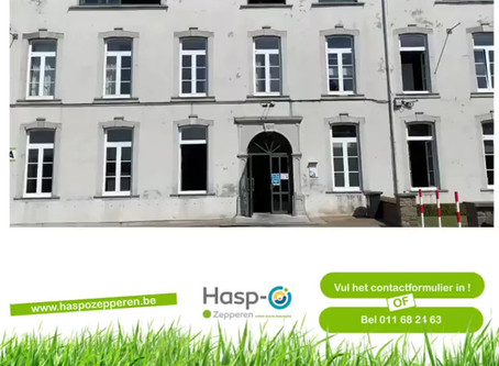 Hasp-O Zepperen - Inschrijven of rondleiding op Hasp-O Zepperen?