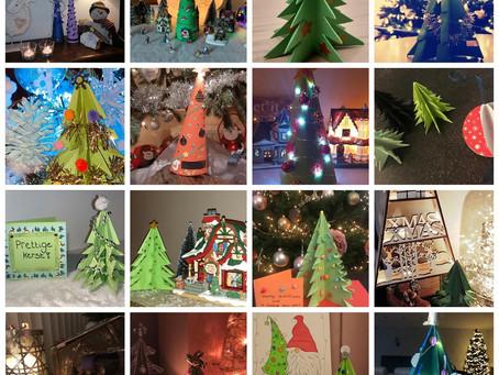 Hasp-O Zepperen - Creatieve kerstbomen