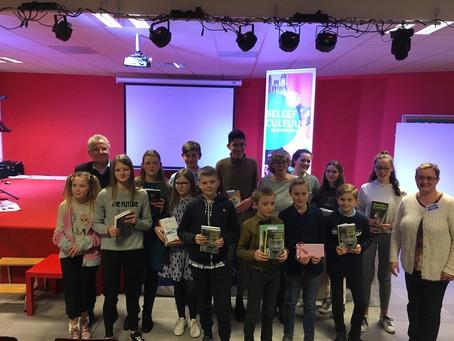 Leerling HASP-O Zepperen winnaar van grootste schrijfwedstrijd in Vlaanderen!