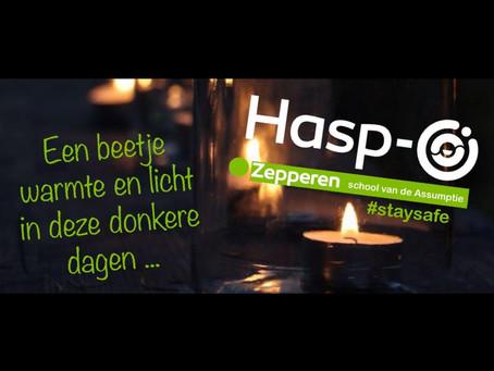 Hasp-O Zepperen - Wenst jullie meer dagen van licht en warmte in 2021