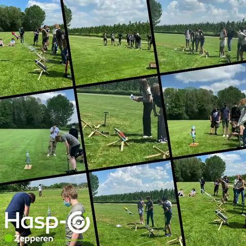 Hasp-O Zepperen - Raket lanceren