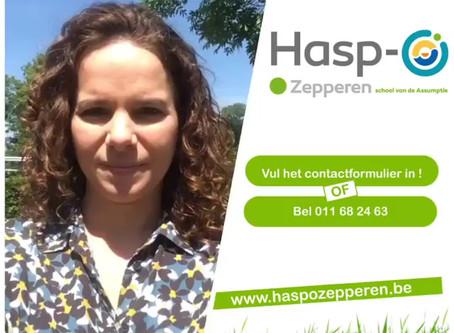 Hasp-O Zepperen - Inschrijven of een rondleiding op Hasp-O Zepperen?