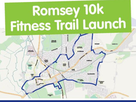 Romsey 10k Fitness Trail Launch!