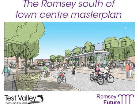 Future of Romsey unveiled in final masterplan