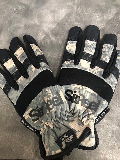 Camo Work Gloves