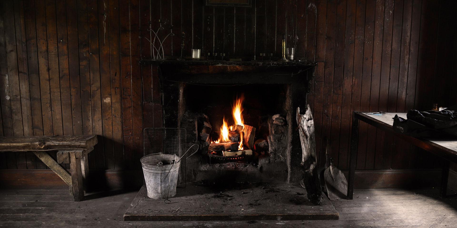 gorton fireplace