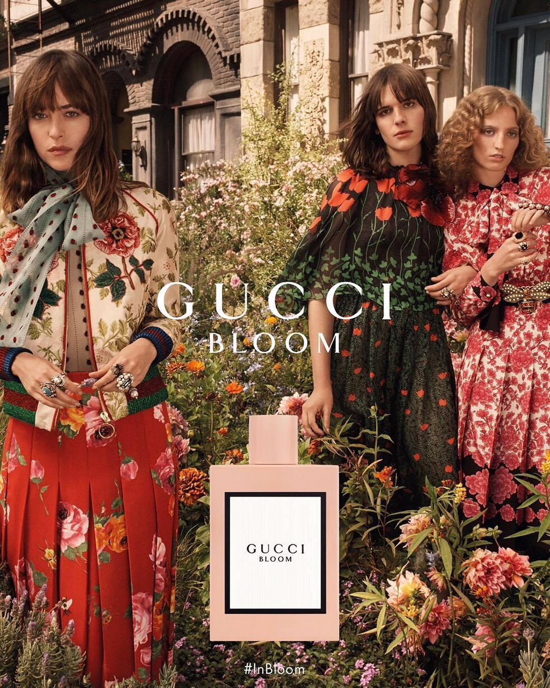 Gucci - On Set With Gucci Bloom