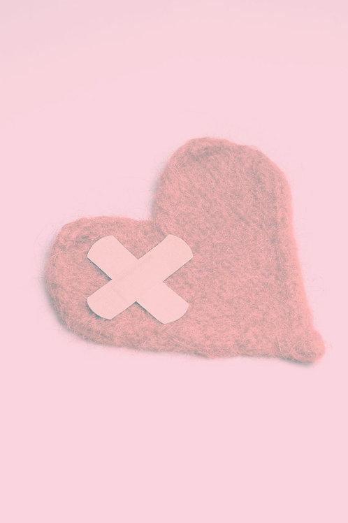 Cord Cutting Heartache Medication Release to Support Healing a Broken Heart