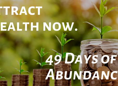 49 Days for a Mindset of Abundance & Prosperity