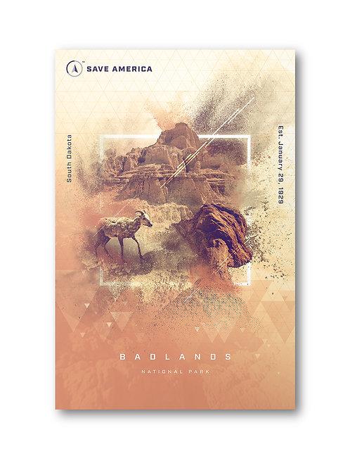 Badlands National Park Postcard (10 pack)