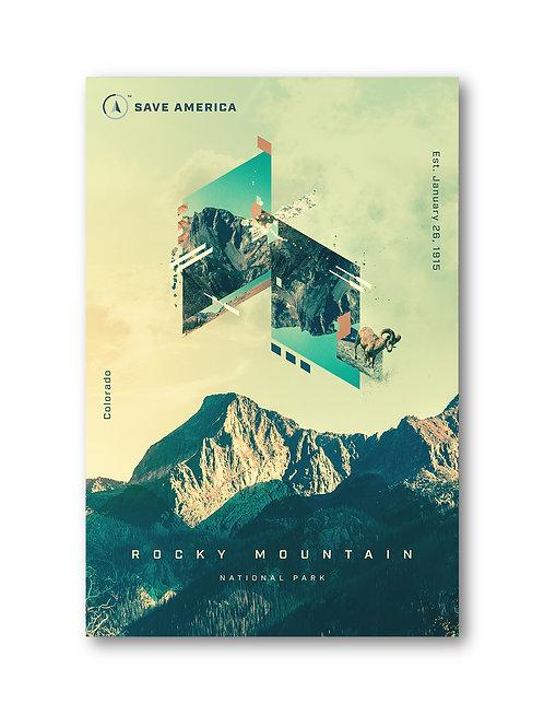 Rocky Mountain National Park Print