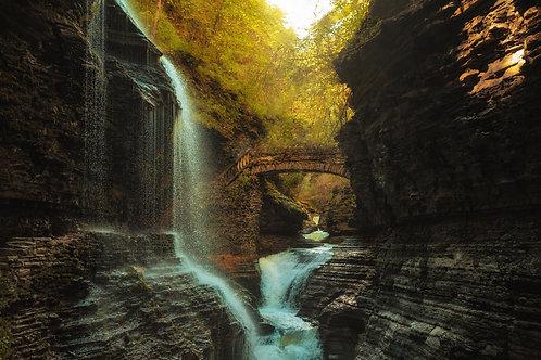 Watkins Glen in Autumn