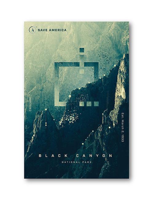 Black Canyon National Park Print