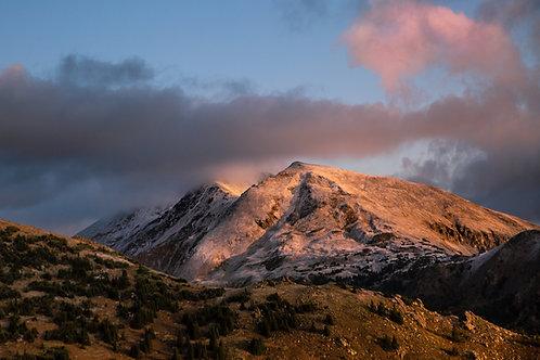 Mt. Massive at Sunrise
