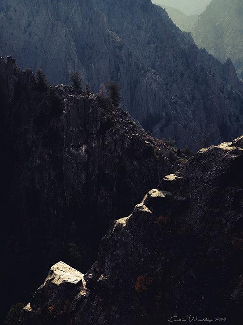 Morning Light in Black Canyon