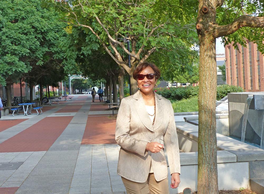Carolyn Flowers, in 2016.