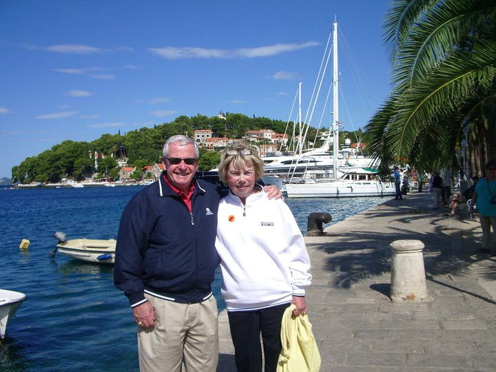 Jack and his wife, Joan, on vacation in the Greek Islands in 2010. Photo used with permission by Jack Leary.