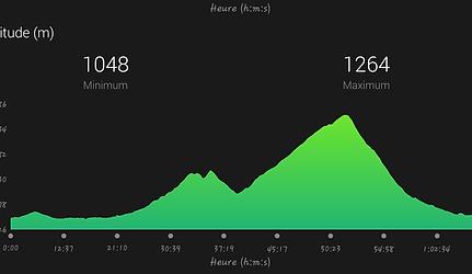10 km du Mont-blanc