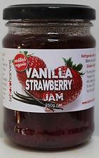 Vanilla Strawberry Jam