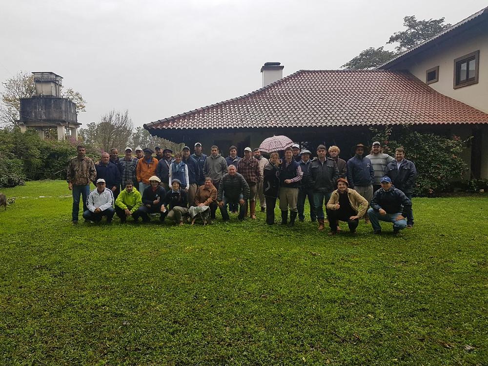 Visita à Cia Azul Agropecuária em Uruguaiana