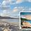 """Thumbnail: """"Calvert Beach"""" Driftwood Art"""