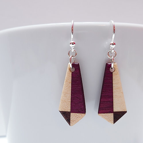 Pentagonal Earrings