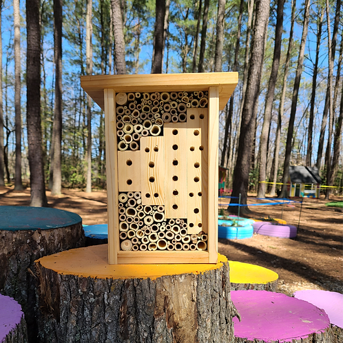 "Large Bee Hotel ""Bamboo & Wood"""