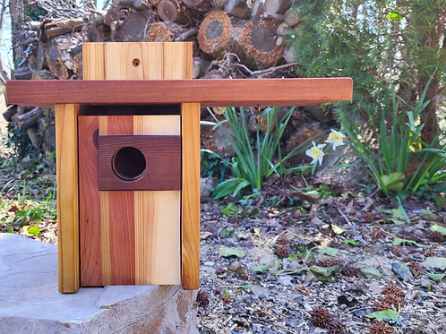 Birdhouse with Overhang