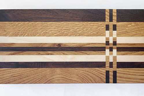 Serving Board with Feet and Local Wood