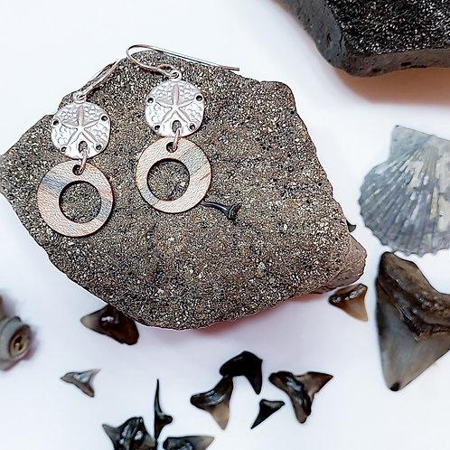 Beachy Round Earrings