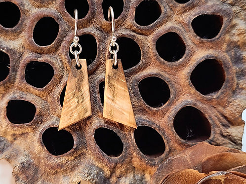 Small Driftwood Earrings