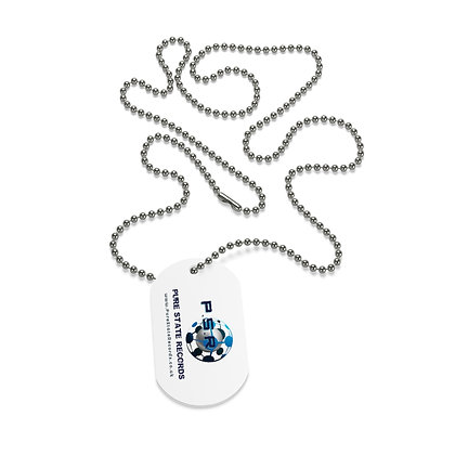 P.S.R Records Dog Tag