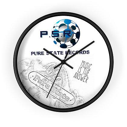 P.S.R Records Wall clock
