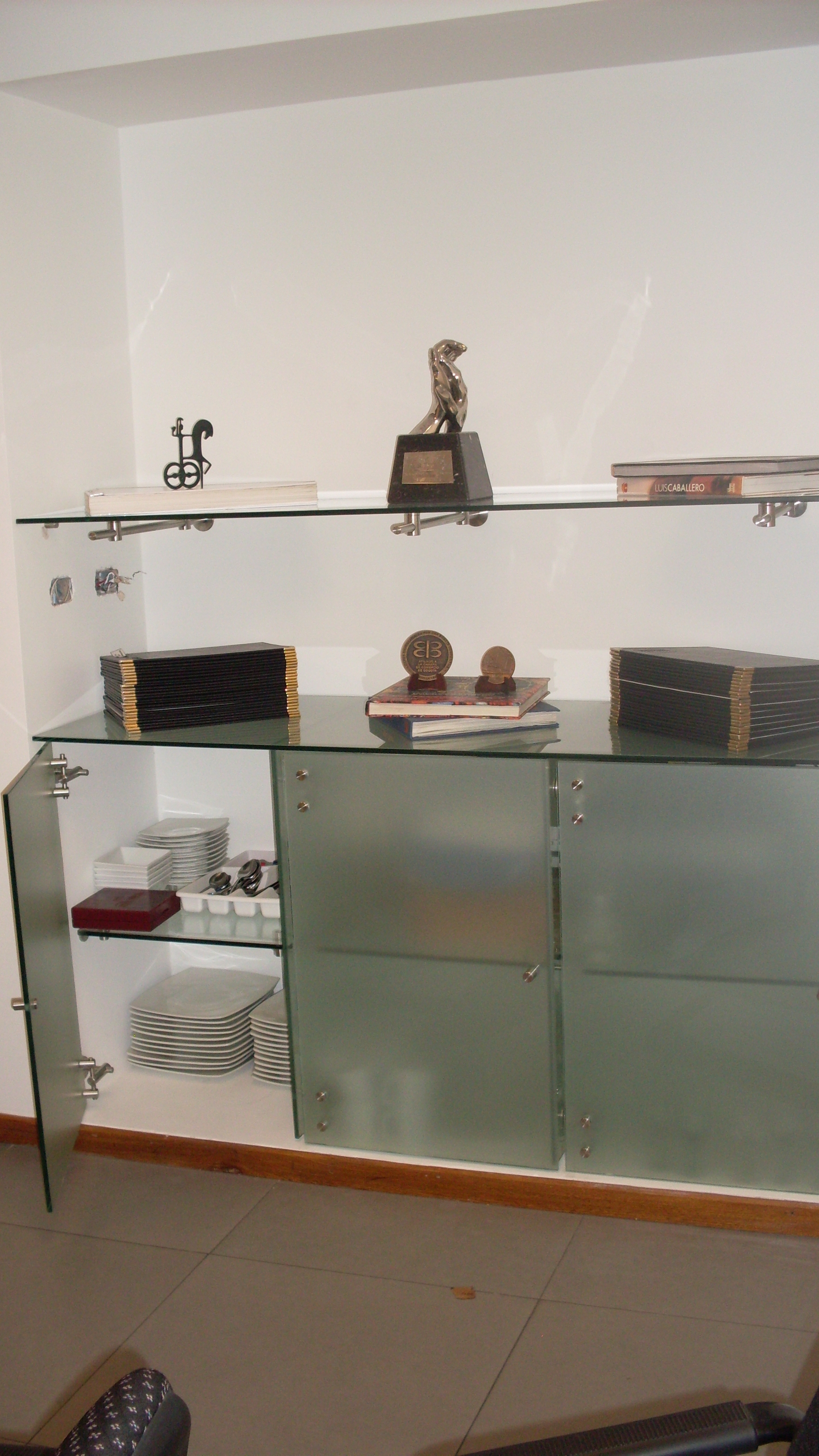 Mueble vidrio