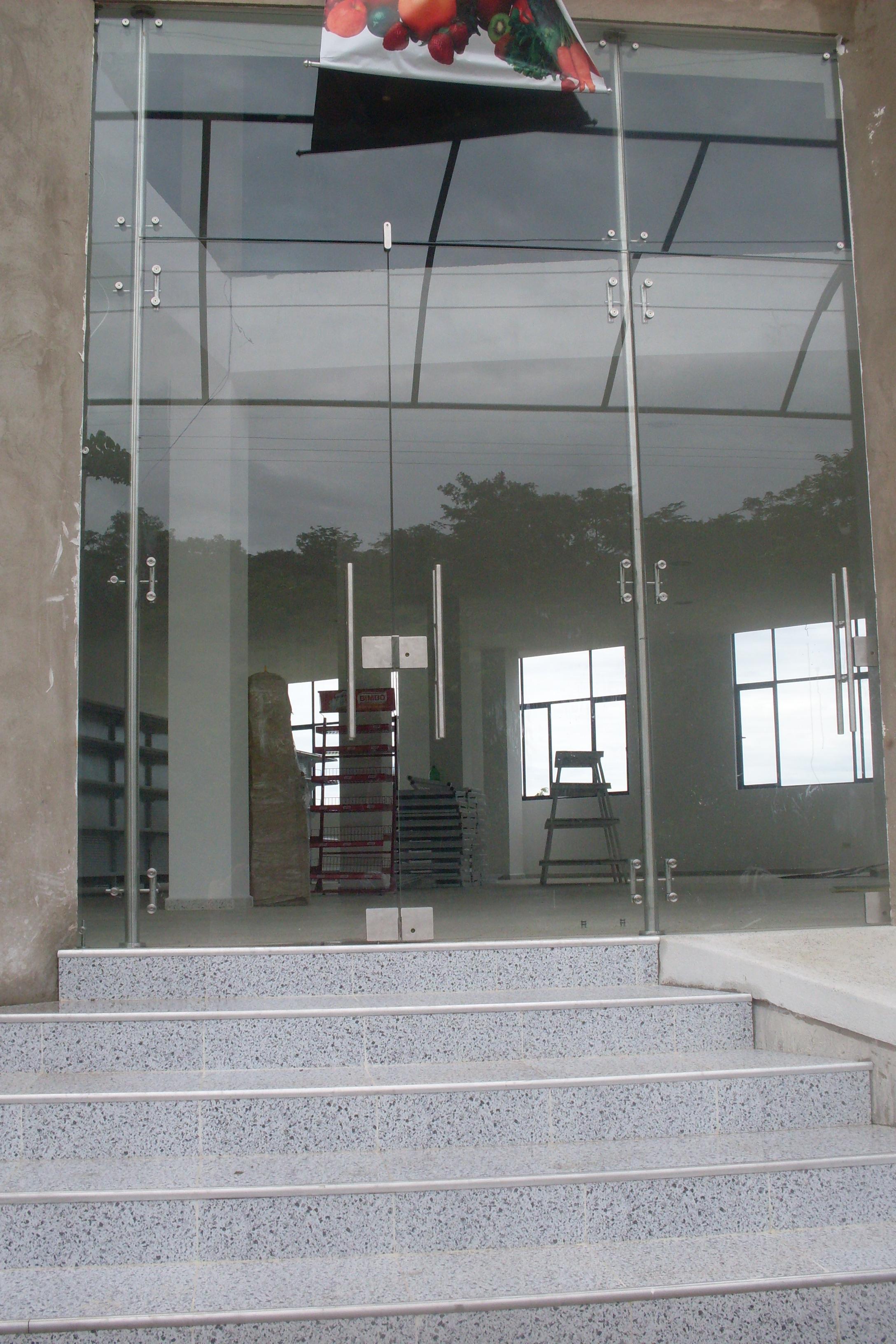Puertas vidrio