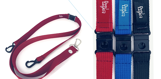 2 PK of Dual Lanyards