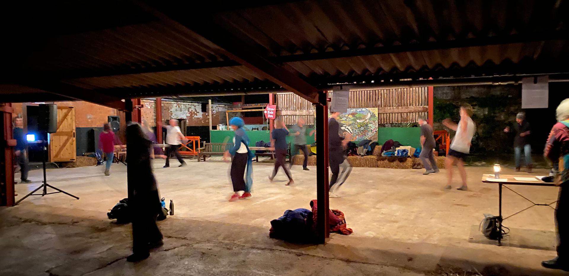 dance in the barn 4 Nov 2020