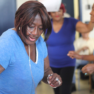 Teaching and creating dance with senior citizens