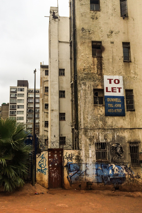 Flats to let in Hillbrow, Johannesburg