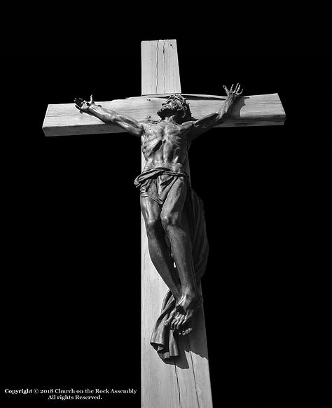 Crucifixion - Copyright 2018 - Church on