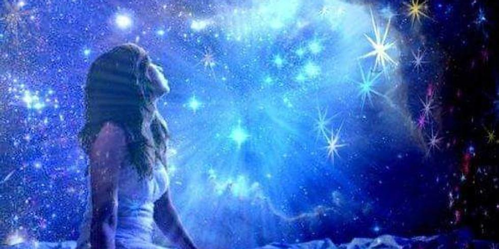 Méditation de la pleine Lune - connexion aux guides de Lumière