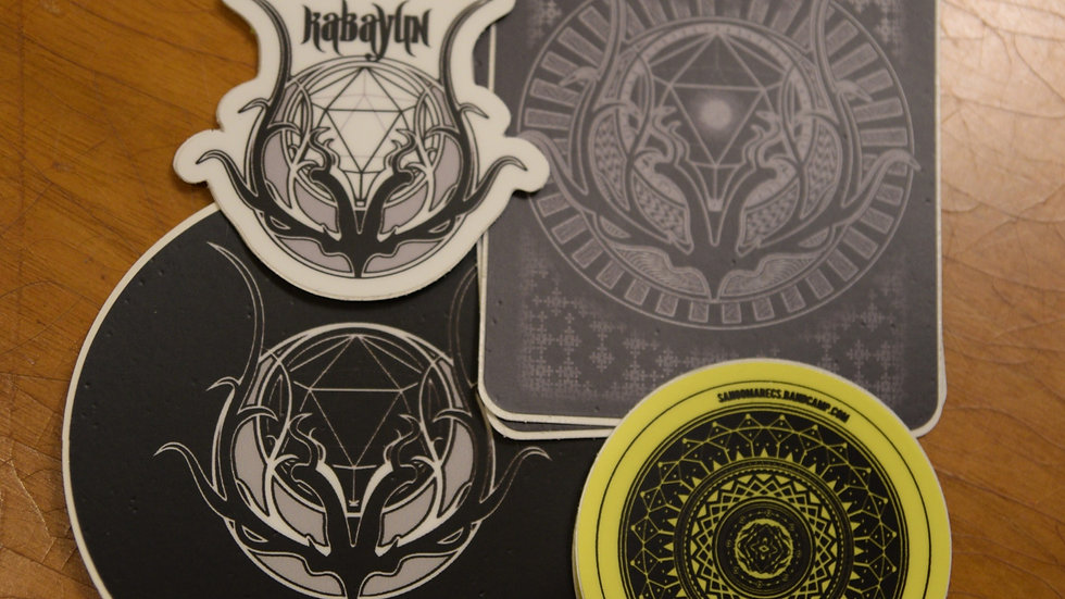 Vinyl Sticker Pack