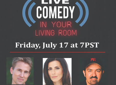 Stellar Comedy Show Fundraiser on July 17!