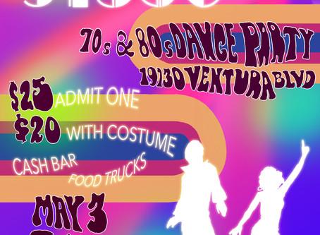 Studio 91356 70s & 80s Dance Party is Tonight!