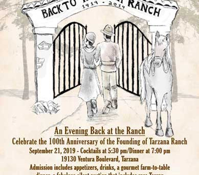 """Back to Tarzana Ranch"" Centennial Celebration!"